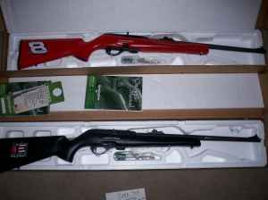 Remington Earnhardt .22 rifle set